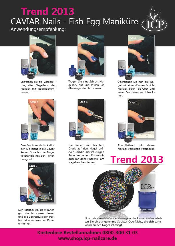 Kaviar Nails Anleitung für die einfache Verarbeitung