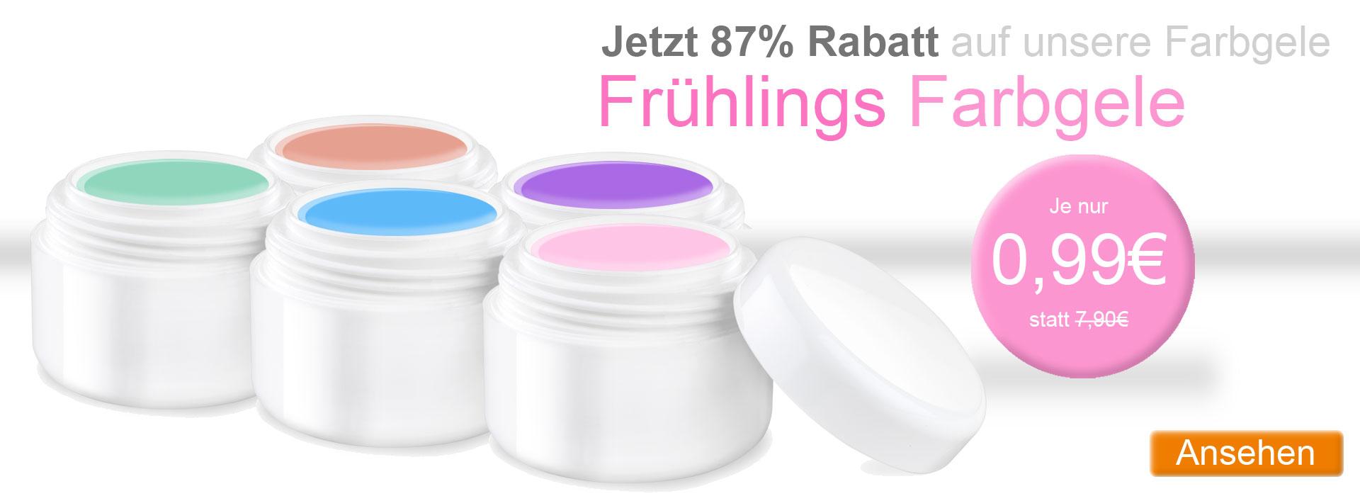 Farbgel Frühlingsfarben günstig kaufen ab 0,99 Cent