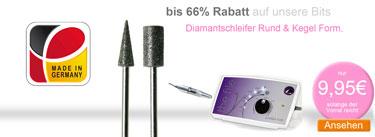 Nagelfräser Bits spare bis 66 Prozent
