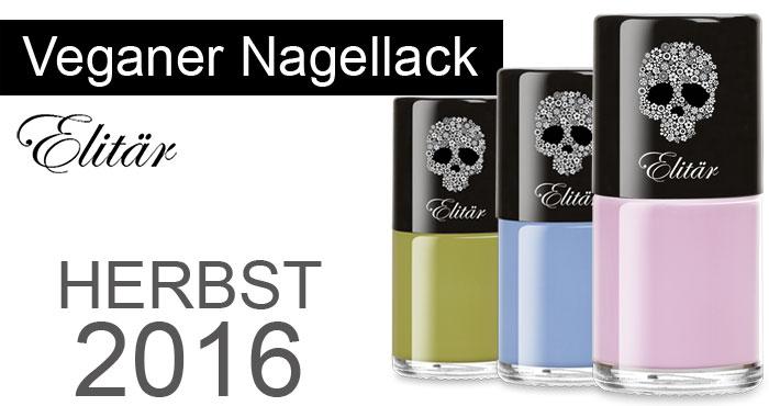 Veganer Nagellack 7-Free Herbst Farben 2016