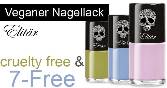 Veganer Nagellack 7-Free und cruelty free