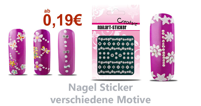 Nageldesign Sticker g�nstig kaufen