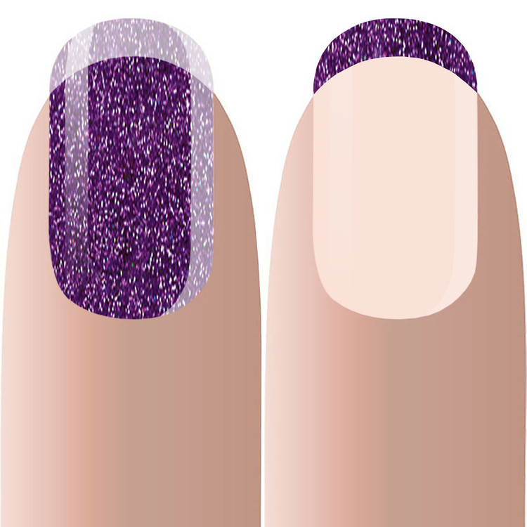Acryl Color PURPLE SHIMMER 10g