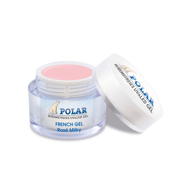 French Gel Polar Rosé Milky 15ml