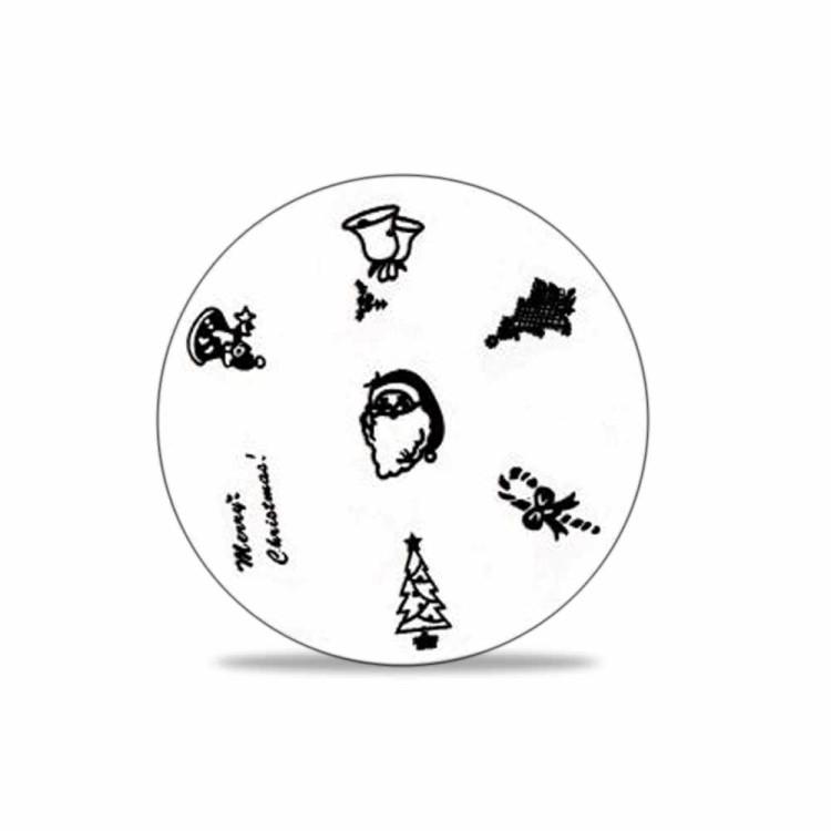 stamping schablone weihnachten motiv 01 1 25. Black Bedroom Furniture Sets. Home Design Ideas