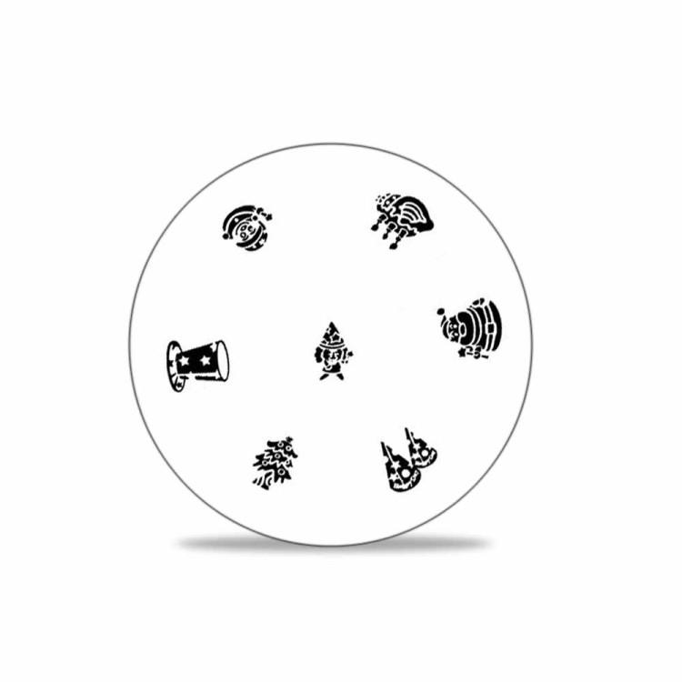 stamping schablone weihnachten motiv 02 1 25. Black Bedroom Furniture Sets. Home Design Ideas