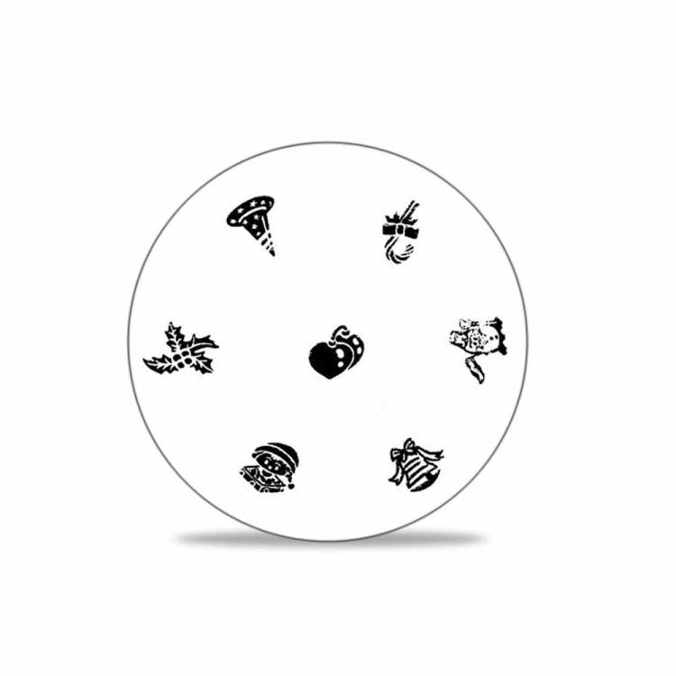 stamping schablone weihnachten motiv 03 1 25. Black Bedroom Furniture Sets. Home Design Ideas