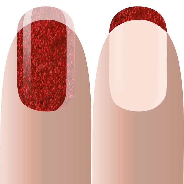 Acryl Color RED SHIMMER 10g